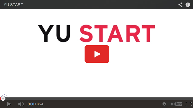 An Introduction to YU Start YouTube video